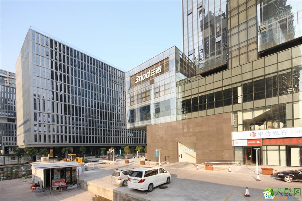 深圳三诺智慧大厦600平米现代风格装修