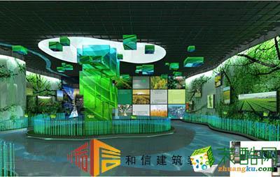 成都展厅装修设计公司-天府新区规划展厅