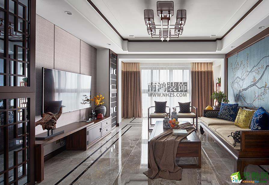 |南鸿装饰|天阳尚城国际128方新中式