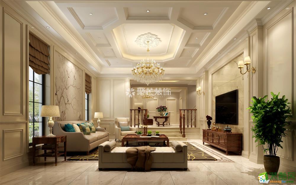 恭爵堡370平米欧式风格别墅住宅装修案例图片