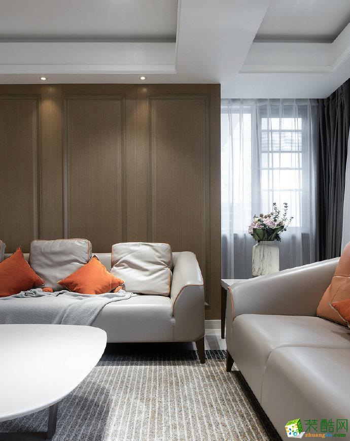 重慶90平米現代簡約風格家居裝修設計