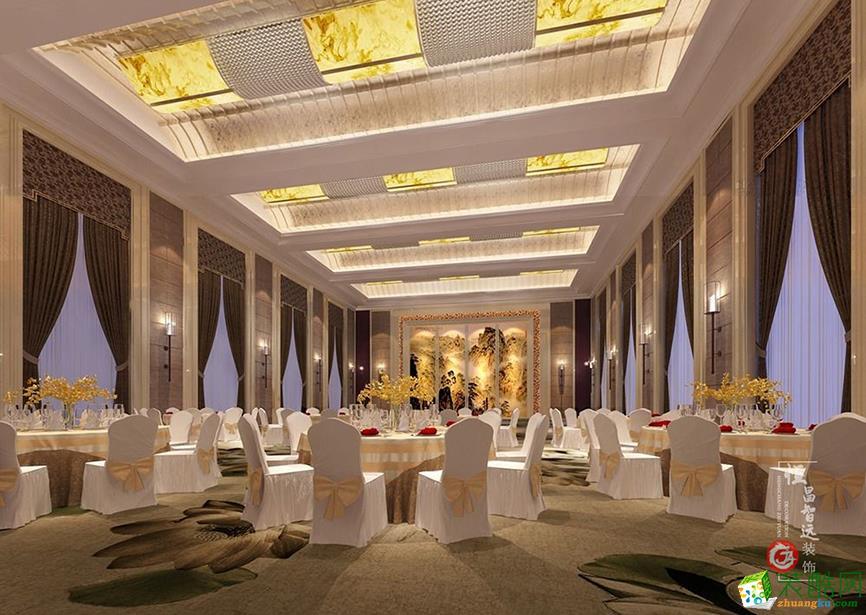 太原1000平米婚礼大厅装修效果图