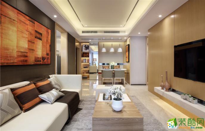 抚州133平三室简约风格装修效果图-经典装饰