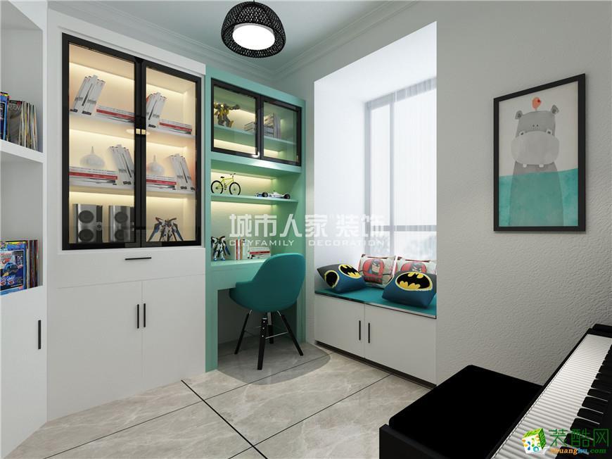 汉城壹号130平米极简风格装修案例分享