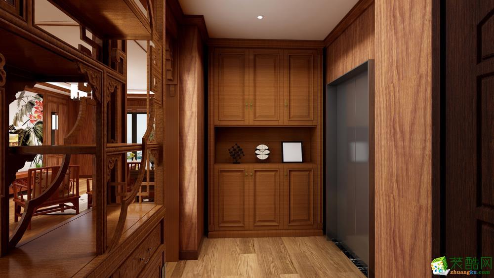 155平米三室二厅二卫一厨中式风格案例效果图