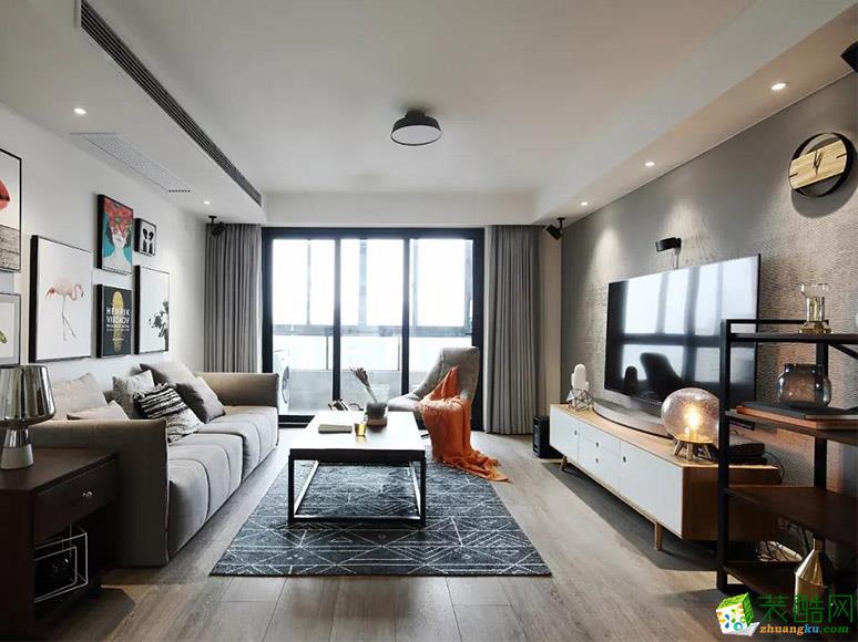 145平混搭风格装修案例_混搭风格-三室两厅一卫
