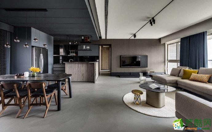 重慶100平現代簡約風格家居裝修設計