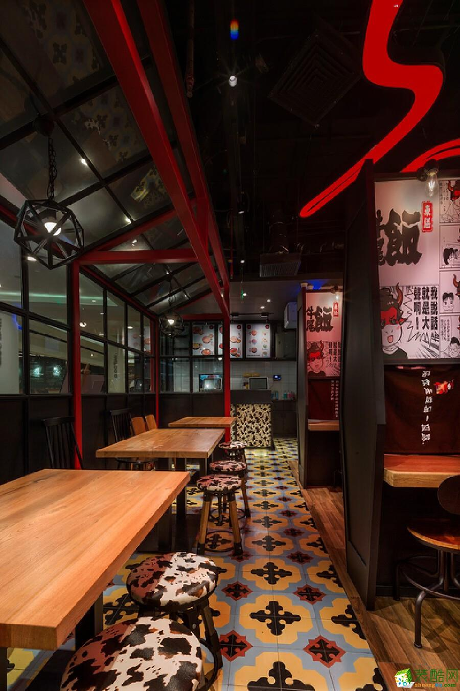 濟南鐵板燒燒烤烤肉火鍋蓋飯店餐廳酒樓餐館飯館裝修設計裝飾公司