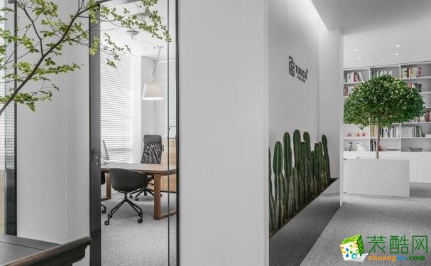 無錫品宅設計-300平米辦公室裝修效果圖