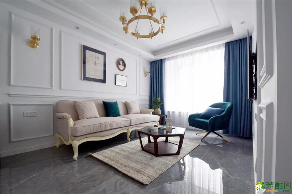 广州76平米现代风格两居室装修案例图片