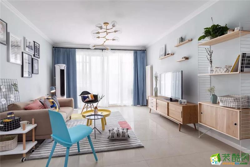 棗莊紅磚公館 簡約客廳 舒適年輕