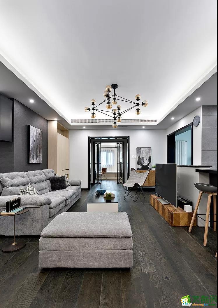 现代风格四居室170平装修案例