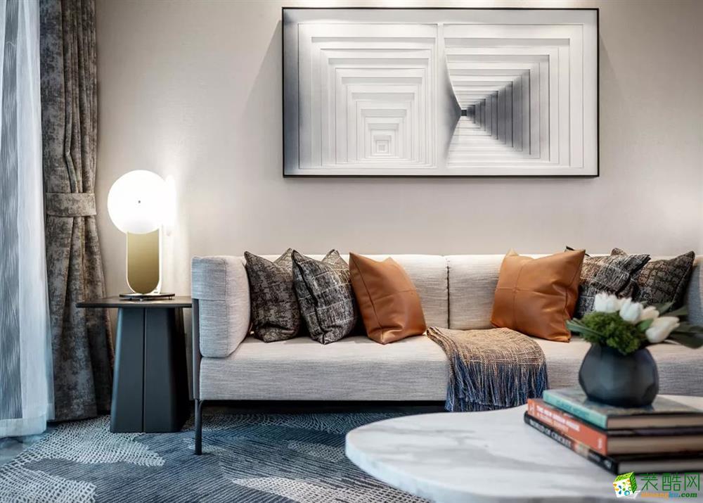 精致软硬装,打造舒适的三居室