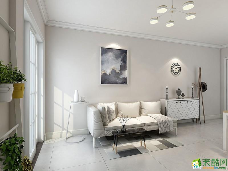 常住装饰―89平现代两居和静设计