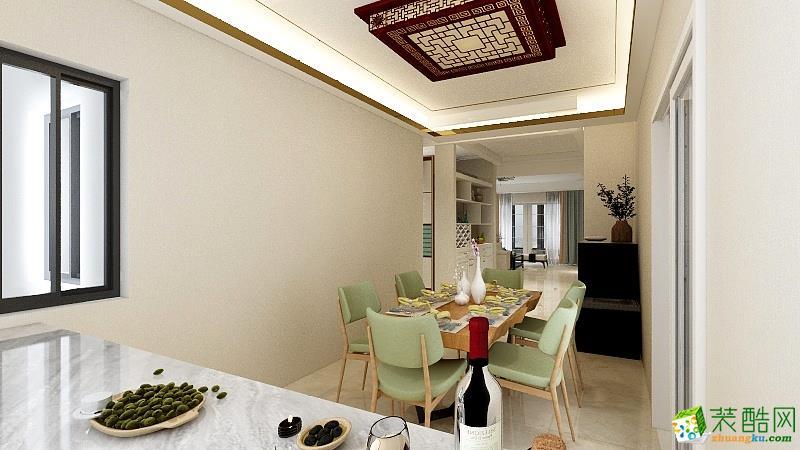 武汉业之峰装饰-�吃酶�170平-现代轻奢风格设计作品