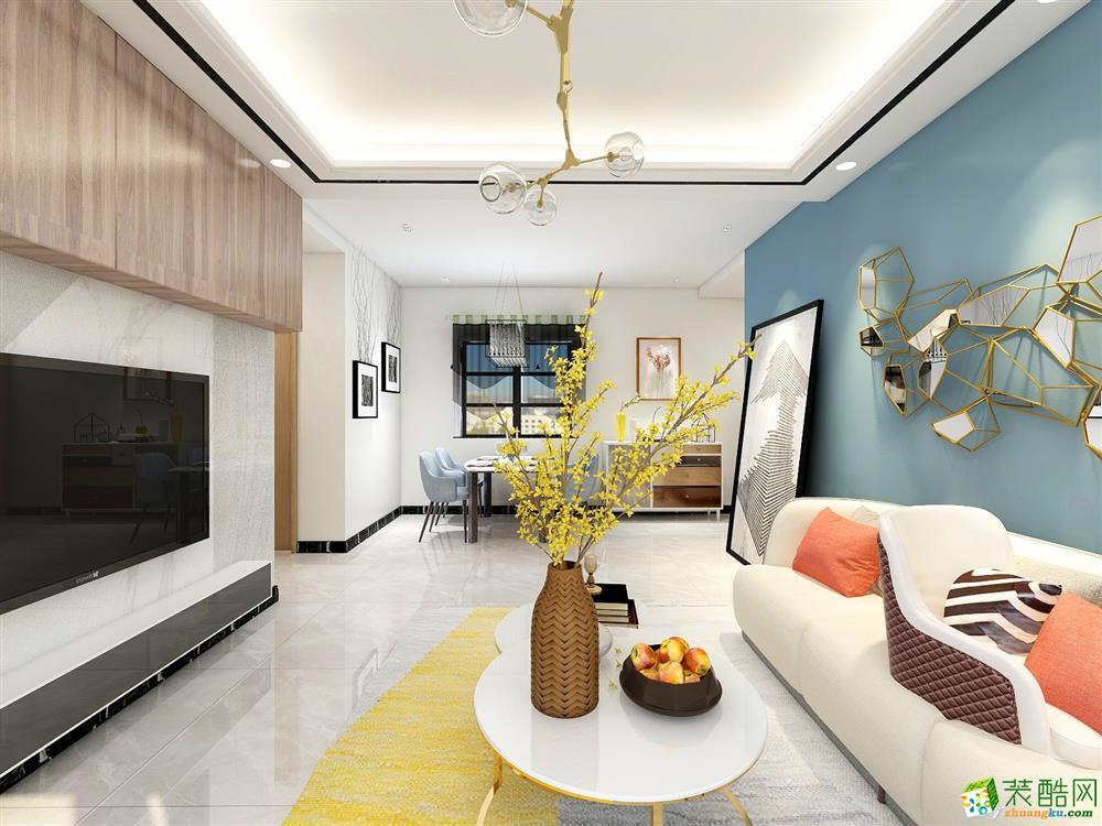 三室两厅110㎡,8万打造现代风格!