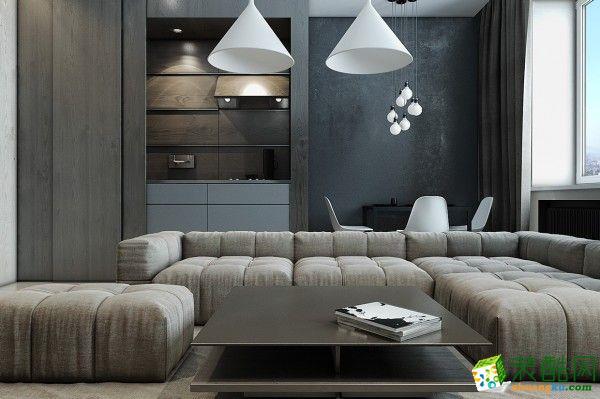 西溪融庄130㎡三室两厅两卫中式风格设计效果图