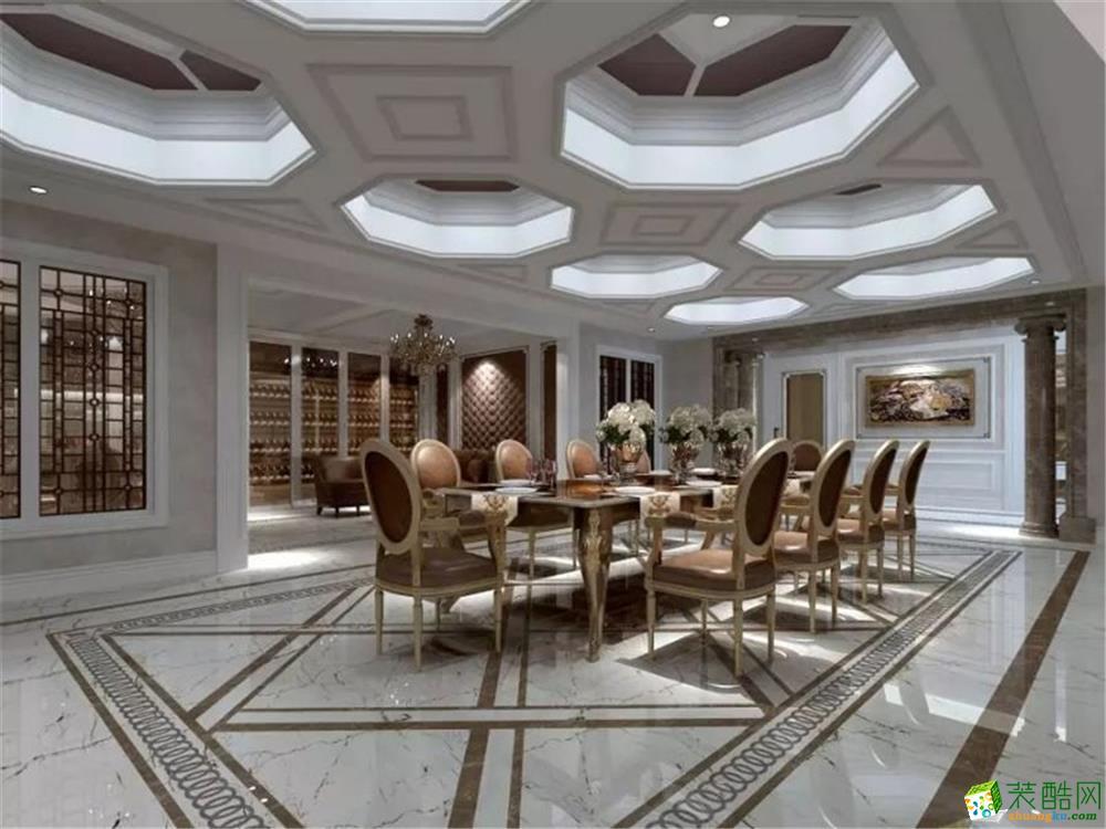380平別墅項目裝修法式風格