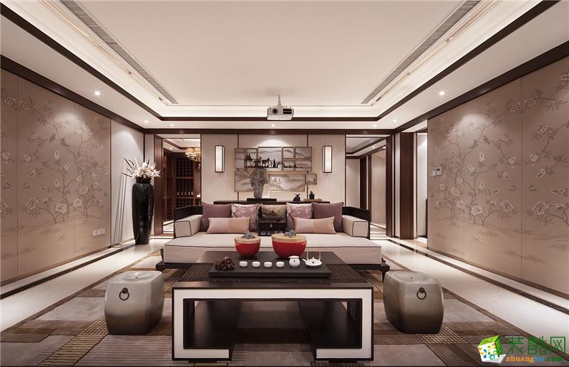 别墅装修价格200平米别墅中式风格装修效果图