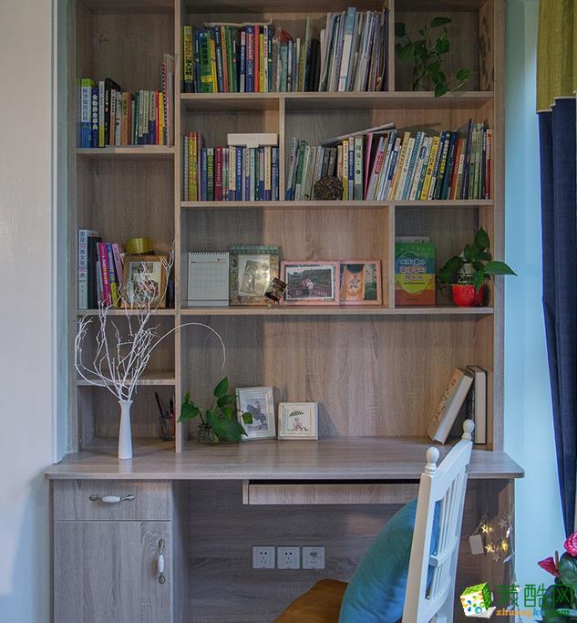 無錫100平米田園風格三室一廳一廚一衛裝修效果圖