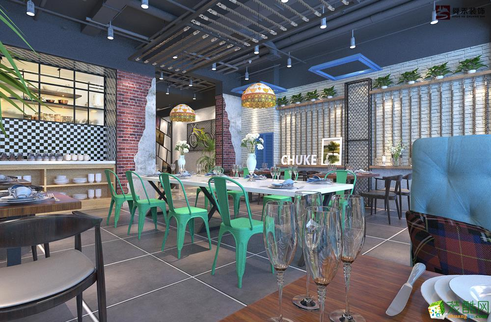 濟南300平米西餐廳裝修效果圖