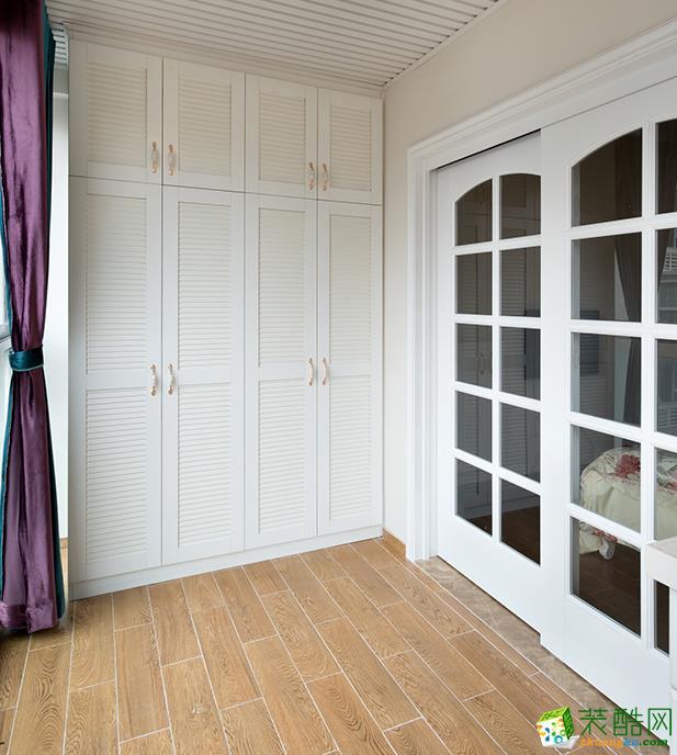 江阴88平米欧式两室两厅装修效果图