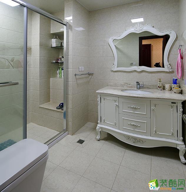 江阴116平米欧式三室两厅装修效果图