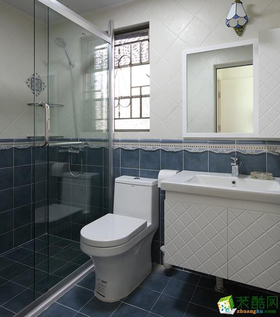 江阴100平米现代简约三室两厅装修效果图