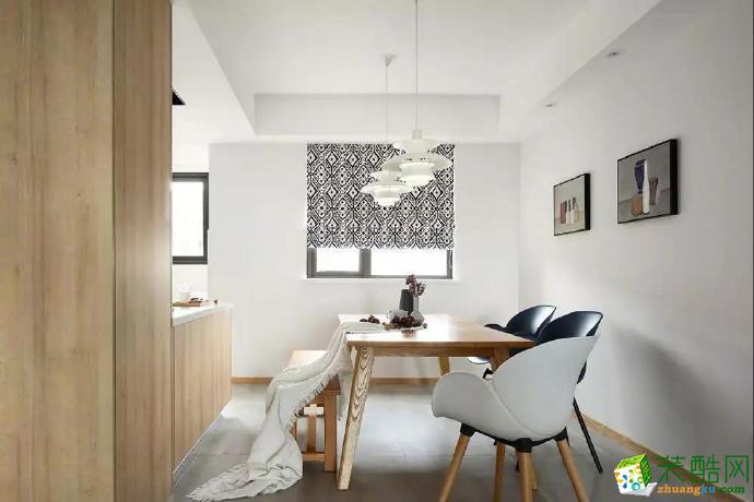 130�O简约文艺复古三居室装修效果图片