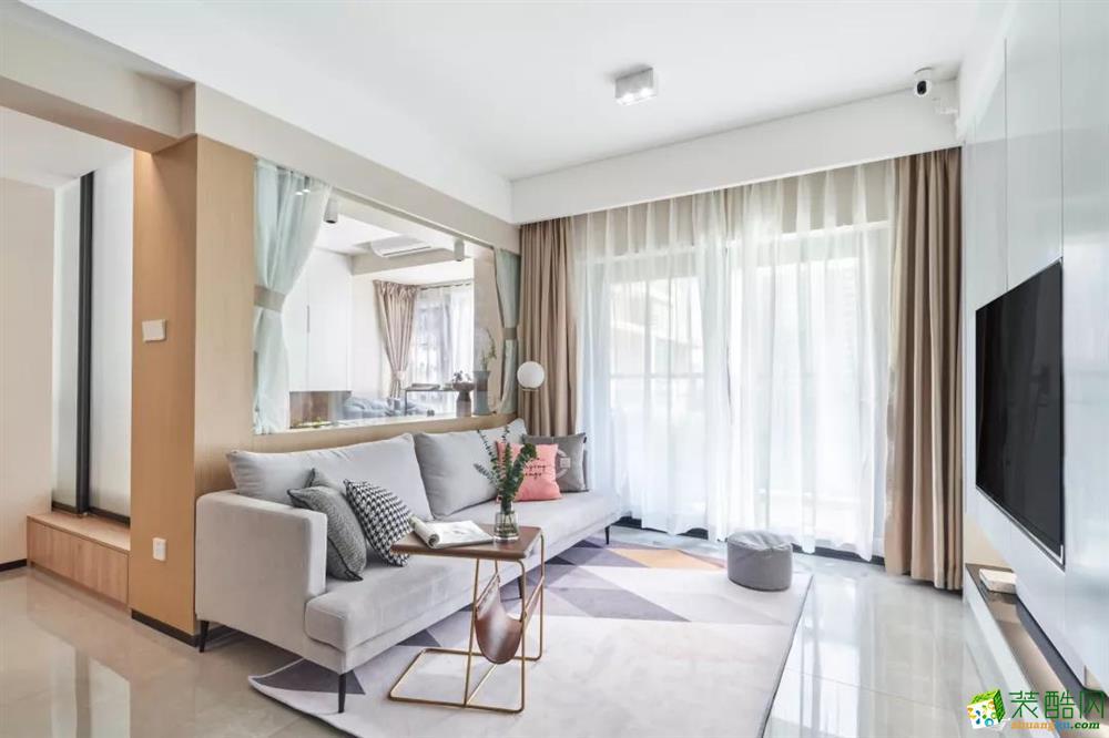 现代北欧风格,客厅多功能房设计超棒!