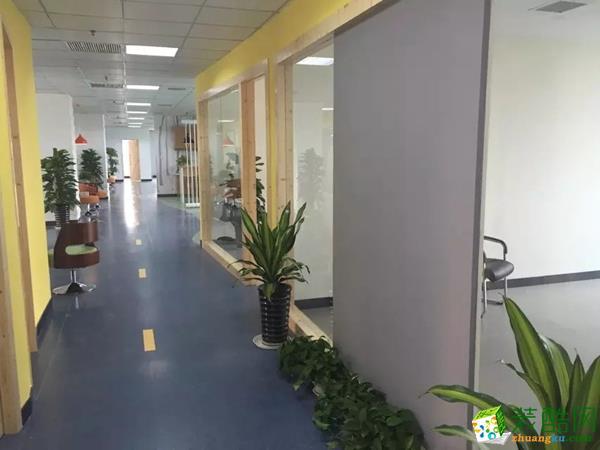 石家庄220平广告办公室公司装修效果图