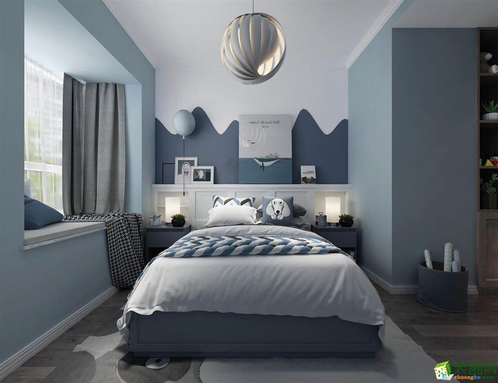 昆明150平米四居室现代风格装修效果图