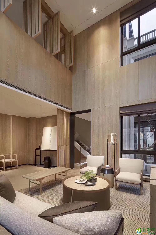 139平兩室兩廳裝修效果圖-海倫國際中式美宅