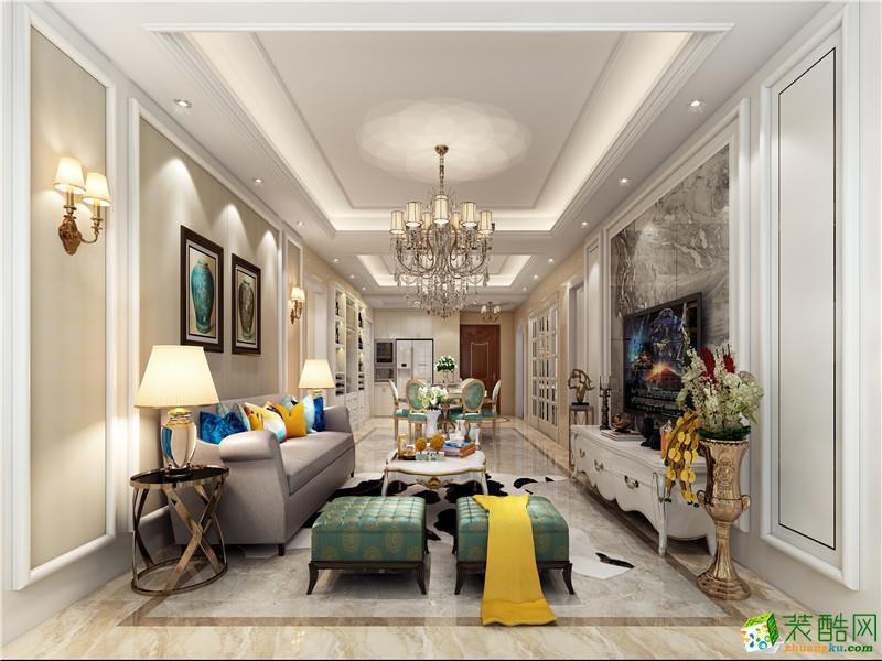 海口160平米现代简约风格四室两厅装修装修效果图