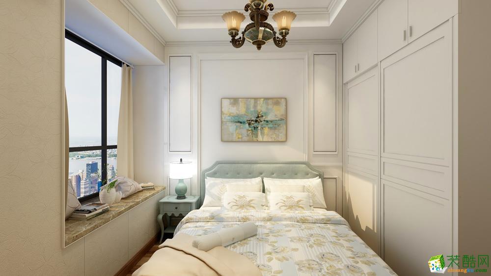 長沙105平米4室1廳2衛1櫥歐式效果圖(