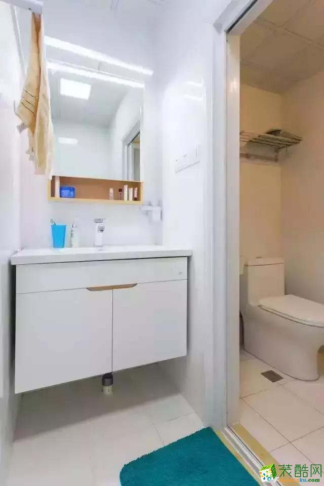 140平峄城 水发颐和园 简约清新装修效果图
