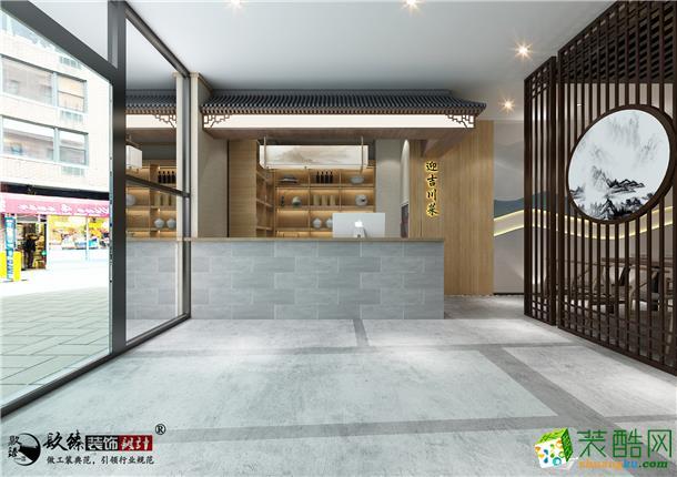 銀川450平米古典風格酒樓餐廳裝修效果圖