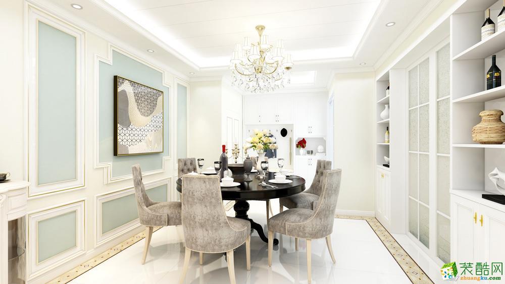 長沙97平米3室1廳1櫥1衛歐式風格裝修效果圖