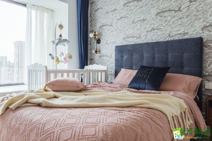 重庆87㎡简约舒适两居室装修案例设计图