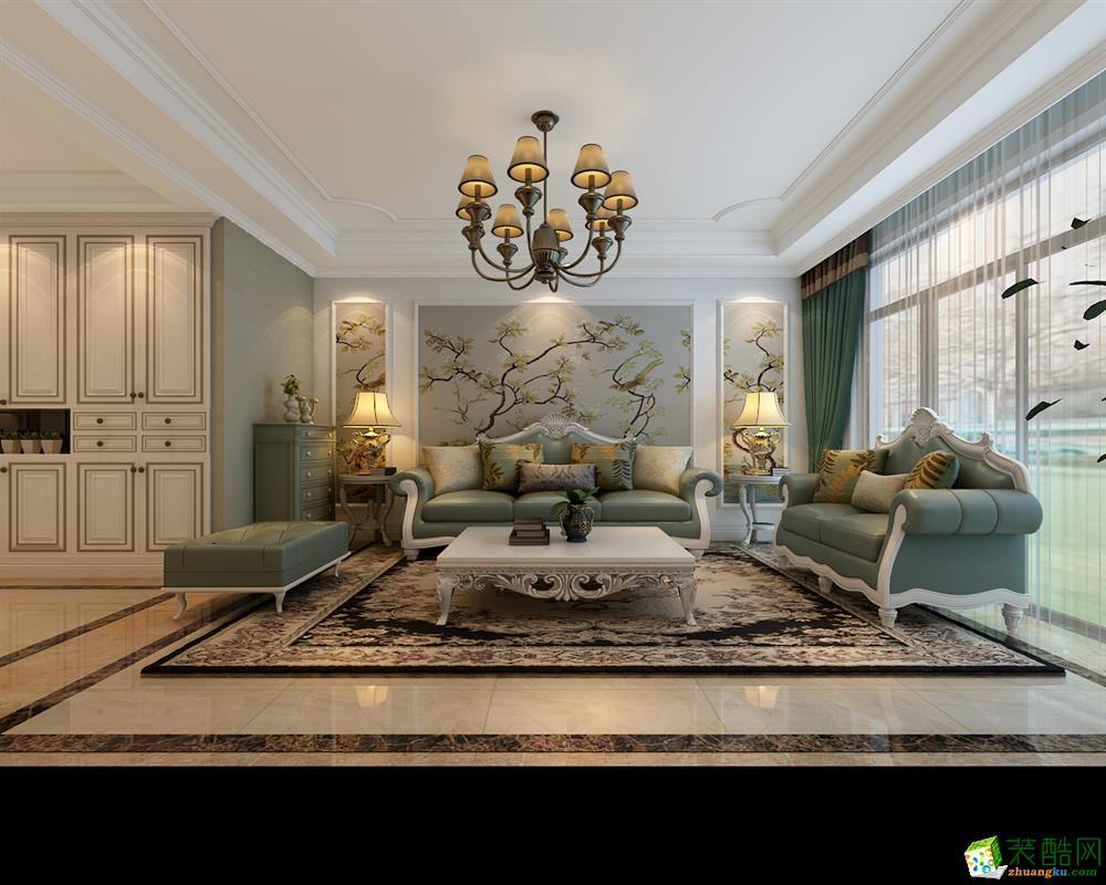 乔治庄园160平美式风格设计效果图