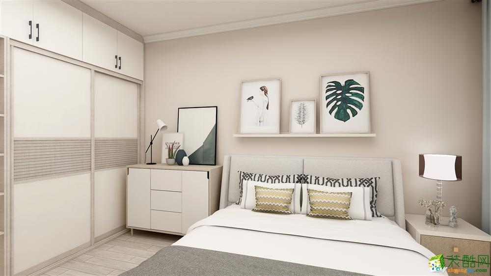 交运广场89平米简约风格三居室装修案例图