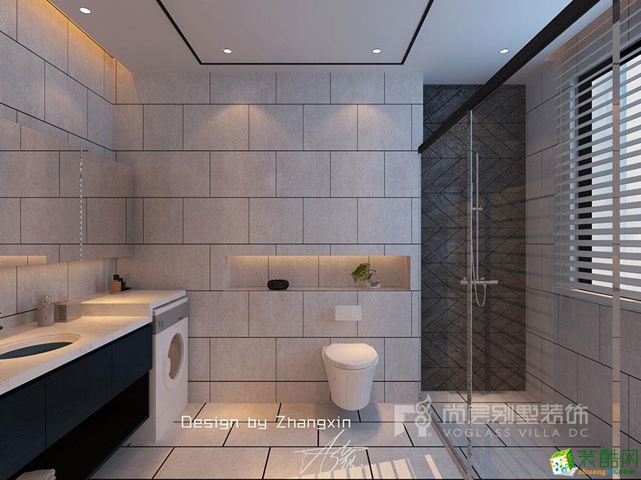 洋房装修-170平米现代简约风格装修效果图