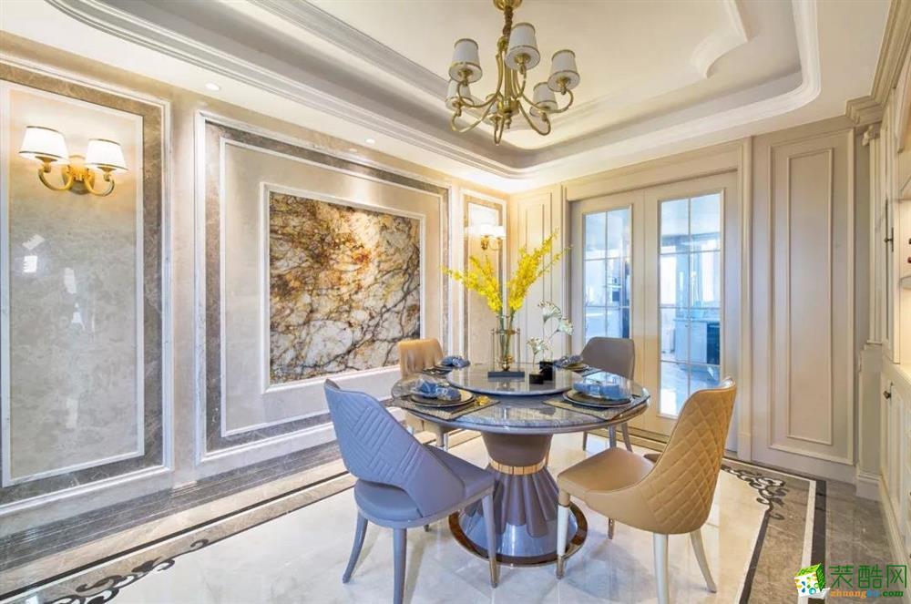 遵义三室两厅装修-140平米打造中欧混搭,演绎异域风情之美!