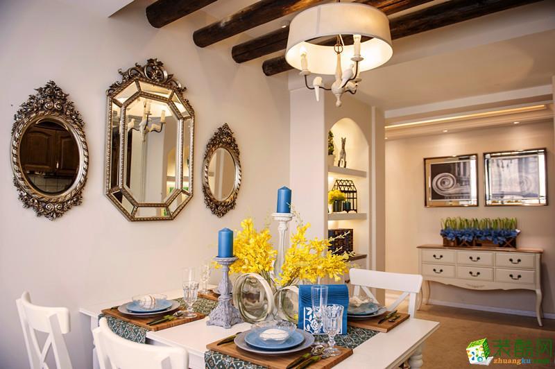 遵義舊房改造-120平舊房煥新,濃厚的地中海異域風情