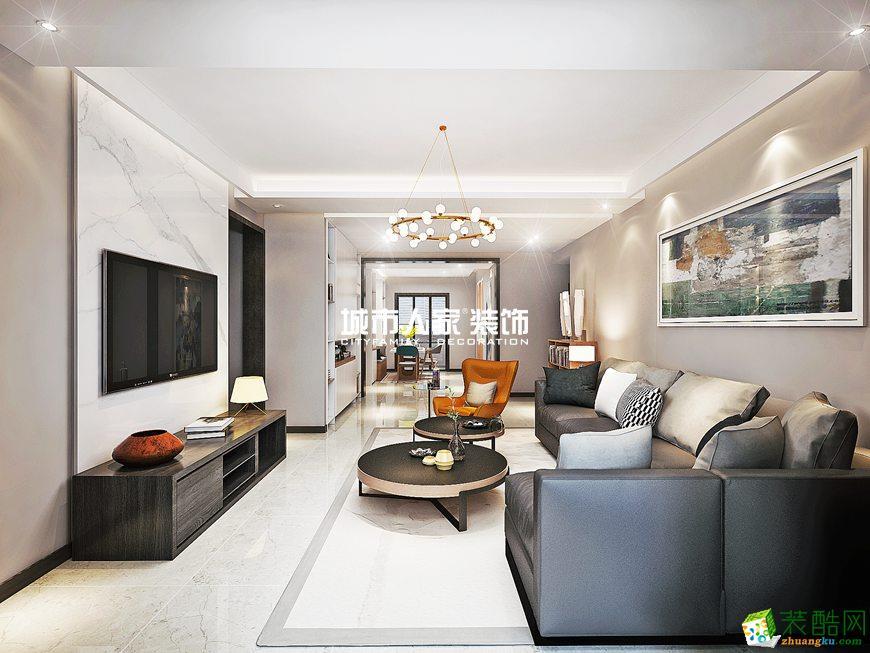西安貳號大院166平米簡約風格四室兩廳兩衛裝修效果圖