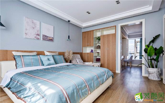 重庆80平两室现代简约风格装修效果图