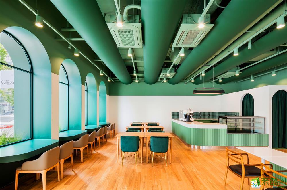 濟南200平米咖啡廳裝修效果圖