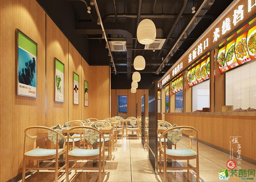 太原350平米餐厅装修效果图