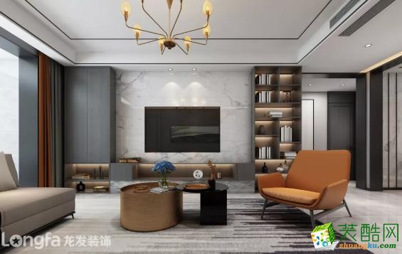 龙发|融侨城132平米港式风格案例推荐