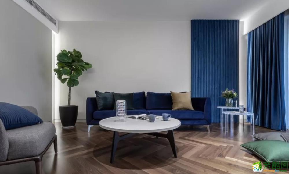 100平米三居室混搭风格装修效果图
